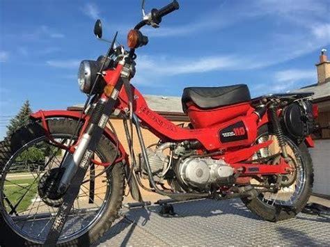1982 Honda Ct110 Trail Bike (postie Bike)