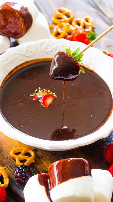 dipper crock pot chocolate fondue