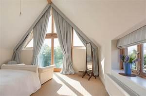 Kurze Vorhänge Für Wohnzimmer : dreiecksfenster gardinen befestigen pauwnieuws ~ Markanthonyermac.com Haus und Dekorationen