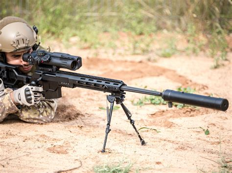 British Sas Uses Israeli Dan 338 Sniper Rifle To