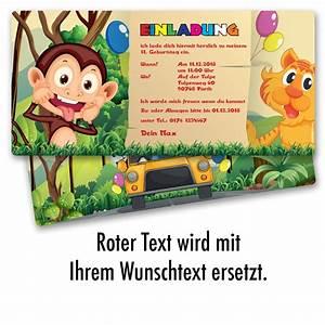 Einladung Kindergeburtstag Gestalten : einladung zum geburtstag zoo tiere karte einladungskarten kindergeburtstag ebay ~ Markanthonyermac.com Haus und Dekorationen