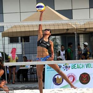 UAAP Beach Volleyball - Far Eastern University vs Ateneo ...