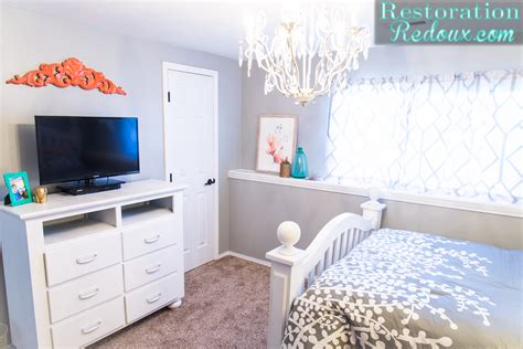 Teen Girl Bedroom Makeover-daily Dose Of Style