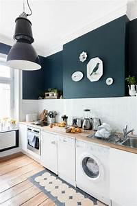Küche Farbe Wand : 45 super ideen f r farbige w nde ~ Markanthonyermac.com Haus und Dekorationen