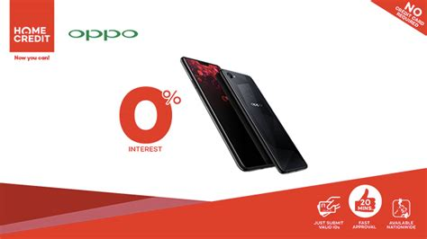 Home Credit : Get The Oppo F7 At 0% Interest With Home Credit