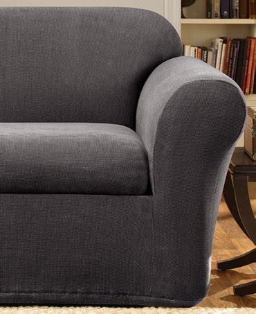 sure fit stretch metro 2 loveseat slipcover slipcovers for the home macy s