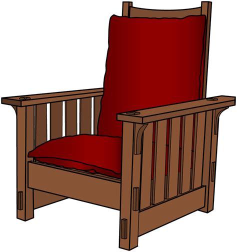 gustav stickley morris chair plans woodguides