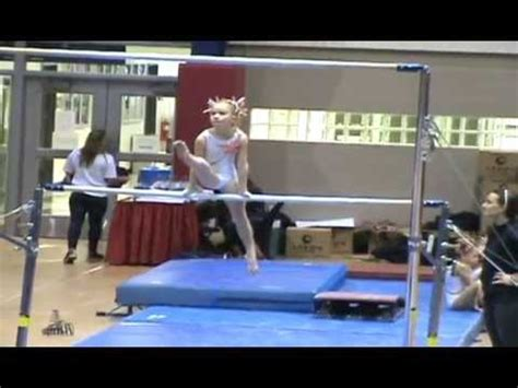 gymnastics 2014 2015 usag level 3 bar beam and floor routine