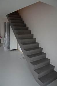 Beton Cire Verarbeitung : beton cire oberfl chen in beton look beton cire betontreppe ~ Markanthonyermac.com Haus und Dekorationen