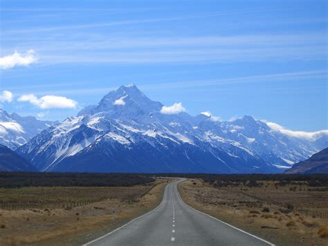 Fileroad To Mount Cook New Zealandjpg  Wikimedia Commons