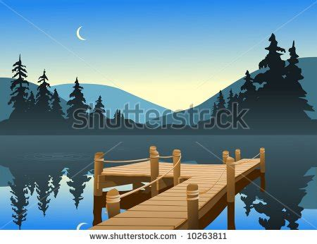 Cartoon Boat Scene by Lake Scene Clipart Clipart Suggest