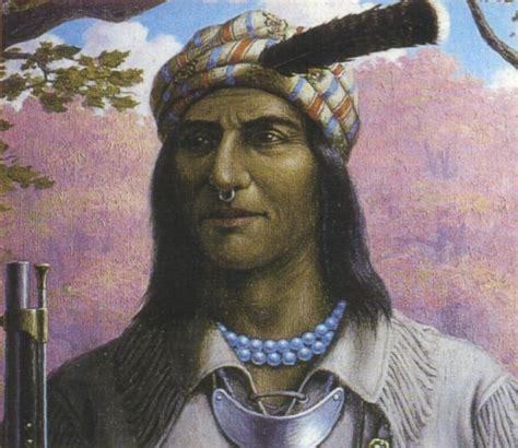Native American Indian Pictures Shawnee Prophet Tecumseh