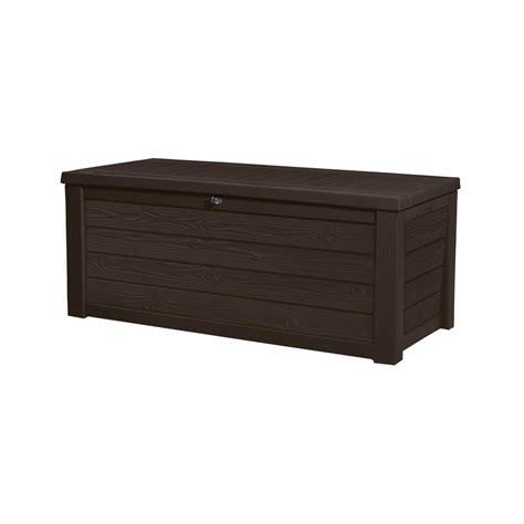 suncast wicker 22 gal resin storage deck box ssw900 the home depot