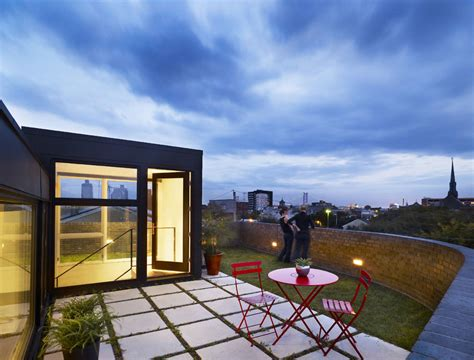 floor plans terrace split level house in philadelphia by roof garden terrace split level house in philadelphia by