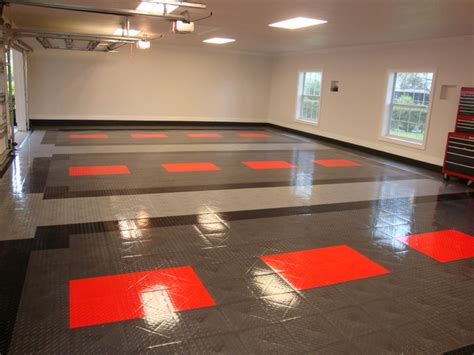 racedeck garage flooring ideas cool garages with cool cars contemporary garden shed