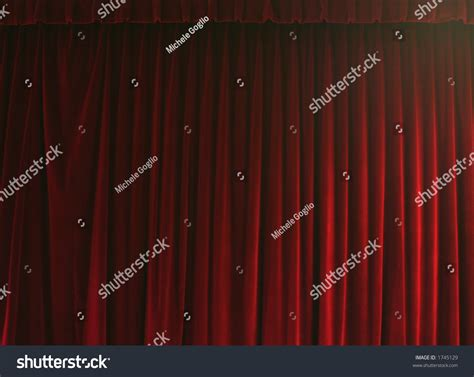 rideau de theatre stock photo 1745129
