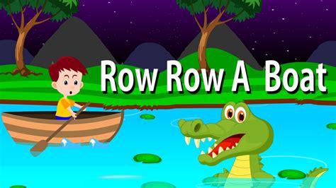 Row Boat Gently Down Stream by Row Row Row Your Boat Lyrical Rhyme English Nursery