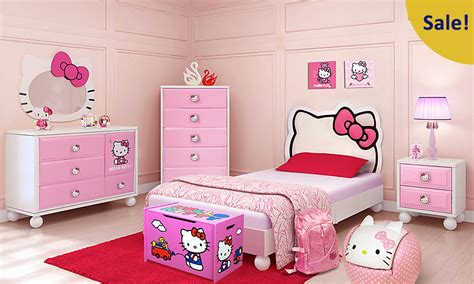 Rooms To Go Kids : Kamar Set Anak Hello Kitty Kts-| Kamar Tidur Ukiran