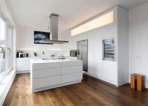 Side By Side In Küche Integrieren : plan w k che lineare plan w kitchen lineare modern k che hamburg von plan w gmbh i ~ Markanthonyermac.com Haus und Dekorationen