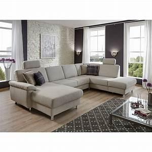Sofa U Form Grau : wohnlandschaft winston ecksofa sofa polsterm bel u form in ~ Markanthonyermac.com Haus und Dekorationen