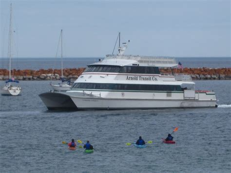 Catamaran Mackinac Island great turtle kayak tours arnold line mackinac island ferry