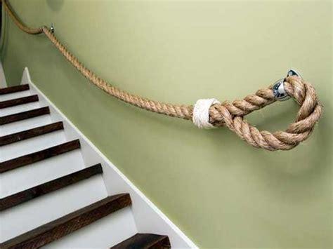 corde de marin pour faire la re de la cage d escalier