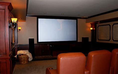 Wasserson Design  Custom Home Theater Design