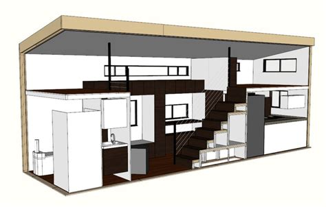 tiny house floor plans small residential unit 3d floor tiny house plans home architectural plans