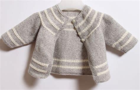 Baby Cardigan / Knitting Pattern Instructions By Littlefrenchknits