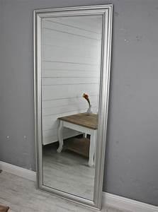 Wandspiegel Groß Weiß : spiegel 150 wandspiegel standspiegel silber holz landhaus holzrahmen badspiegel ebay ~ Markanthonyermac.com Haus und Dekorationen