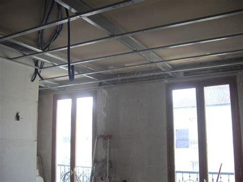 comment faire un faux plafond sans se fixer sur l ancien le briconaute