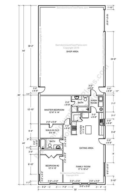 Metal Shop With Living Quarters Floor Plans by 25 Best Ideas About Shop House Plans On Pole