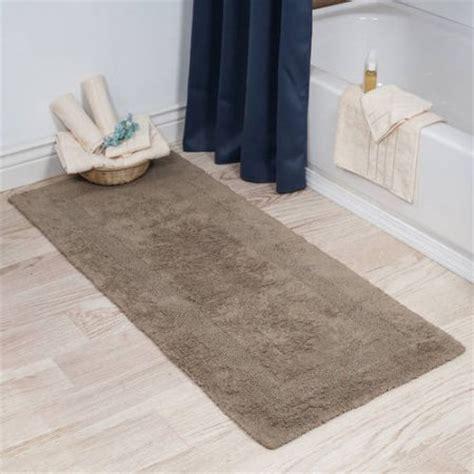 bathroom rug runner 24x60 sleep innovations sandyshore