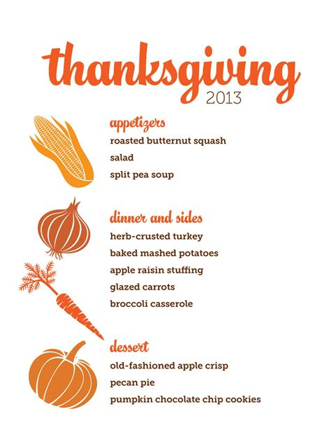 Thanksgivng Dinner Pages Template by Thanksgiving Dinner Menu Templates Happy Easter