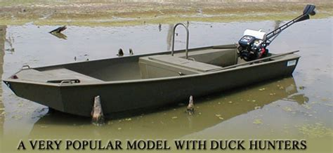 Duck Hunting Jet Boat For Sale by Duck Hunting Boats Go Devil Manufacturers