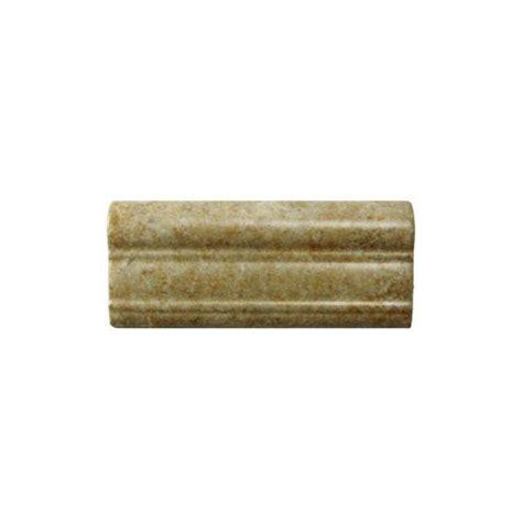 Daltile Brixton Bone 2 In X 6 In Ceramic Chair Rail Wall