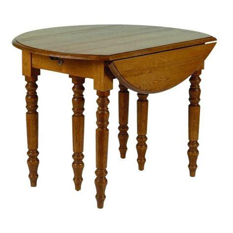 table de cuisine ronde en bois avec rallonges cercy