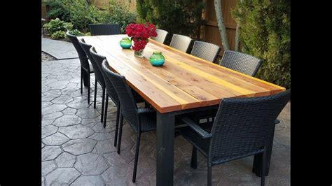 Diy Outdoor Dining Table Backyard Cheap Ideas Taco Mesa Grill Stainless Steel 4 Burner Gas Water Rye Elegant Weddings Building Pond Zipline In