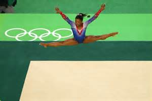 biles aly raisman take gold silver in