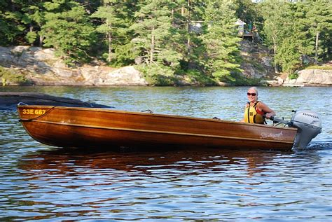 Used Boats Peterborough by Peterborough Wooden Boat For Sale Port Carling Boats