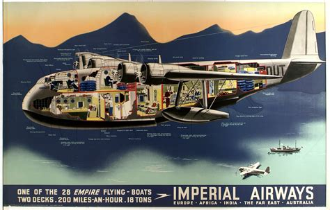 Flying Boat Movie by Imperial Airways One Of The 28 Empire Flying Boats