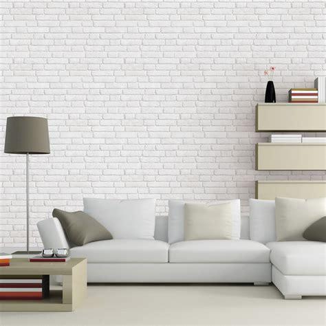 papier peint intiss 233 briques anciennes blanc leroy merlin