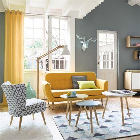 maisons du monde sala multifuncions yellow sofa living rooms and salons