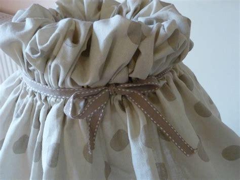 comment habiller un abat jour avec du tissu inspiration du