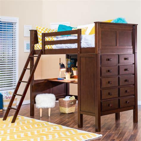 Kenai Loft Bed With Dresser  Epoch Design