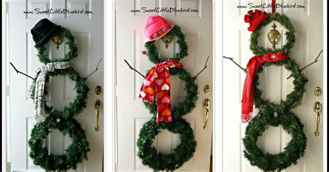 Diy Versatile Snowman Wreath For Home Exterior Decoration Filing Cabinets For Use Design Indian Style Made Gun Cabinet White Dining Room Sets Kitchen From Depot Wine Bar Glass Doors