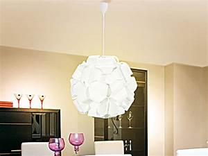Große Wohnzimmer Lampe : carlo milano h ngelampe moderne deckenleuchte gro e kugel durchmesser 40 cm pendellampe ~ Markanthonyermac.com Haus und Dekorationen