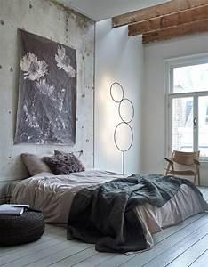 Schlafzimmer Design Grau : 1001 ideen f r skandinavische schlafzimmer einrichtung und gestaltung ~ Markanthonyermac.com Haus und Dekorationen