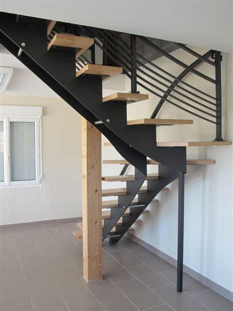 escalier 224 cr 233 maill 232 re acier et bois szymanski