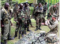 Ghana Ghanaian Army ranks military combat field uniforms
